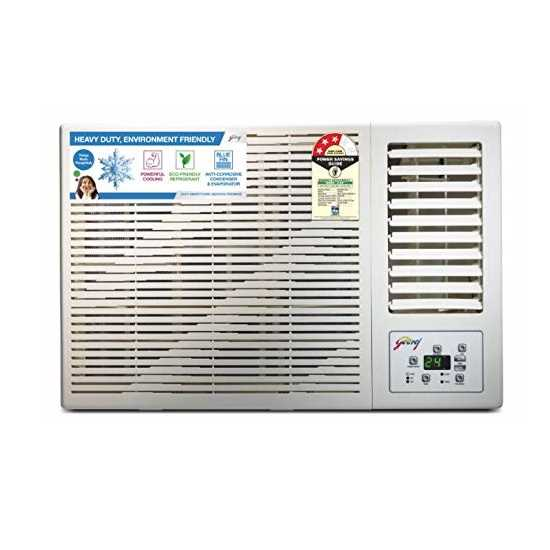 Godrej GWC 12 DTC3 WSA 1 Ton 3 Star Window AC