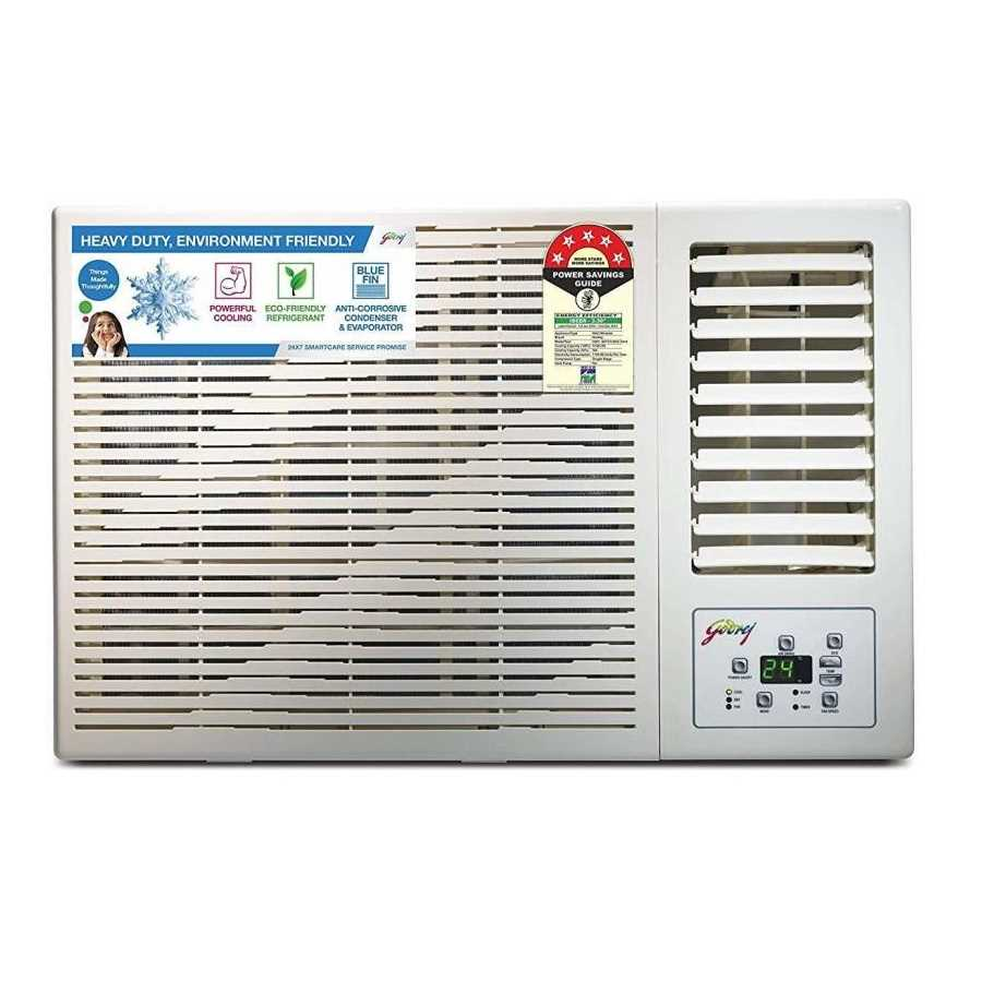 Godrej GWC 18 DTC5 WSA 1.5 Ton 5 Star Window AC