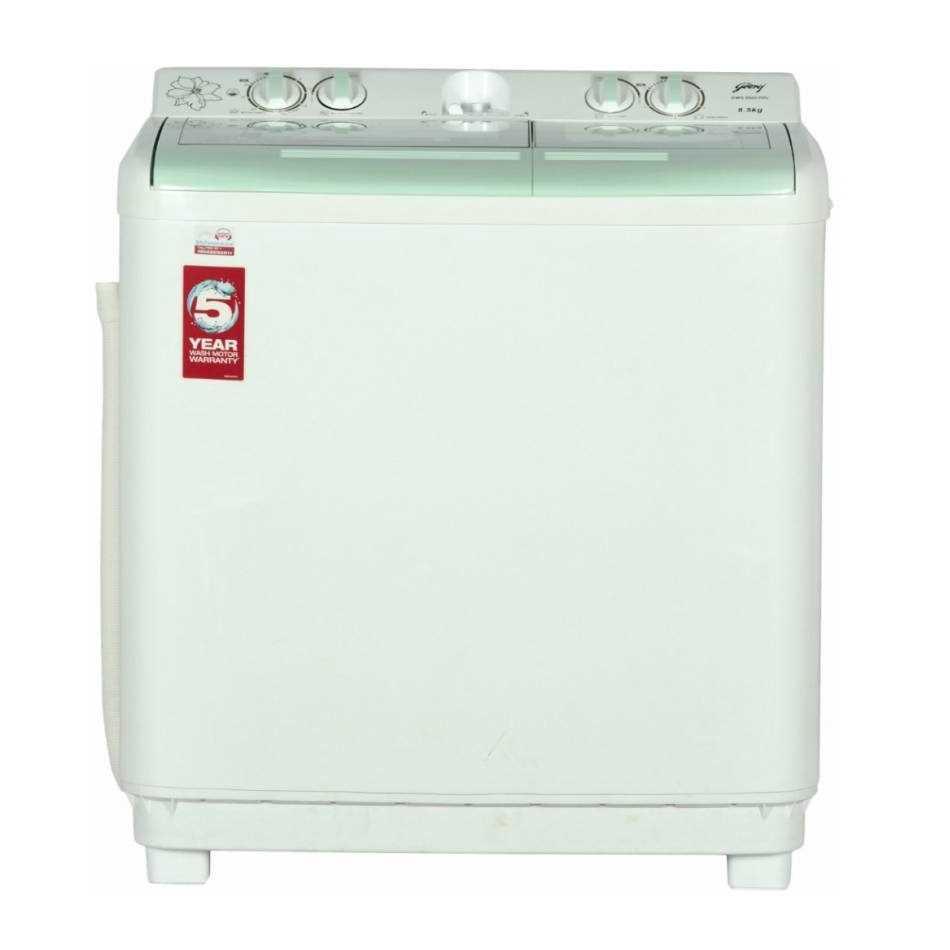 Godrej GWS 8502 PPL 8.5 KG Semi Automatic Top Loading Washing Machine