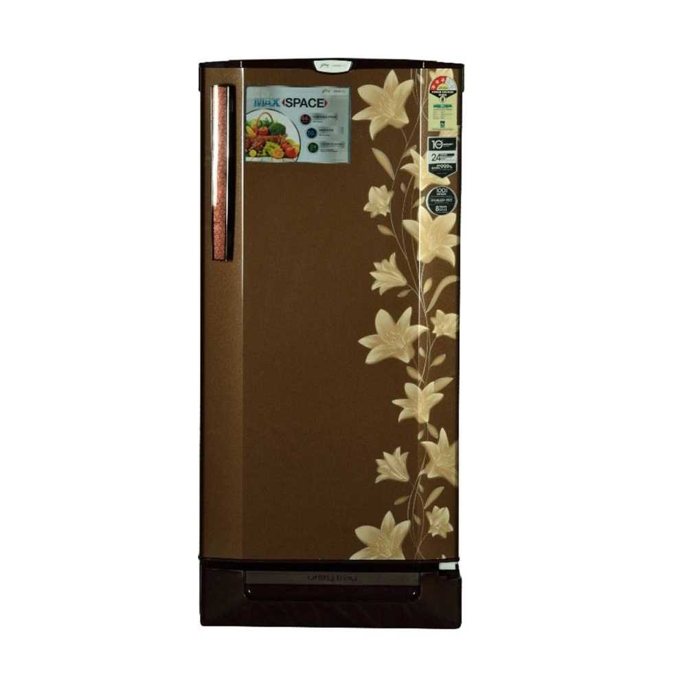 Godrej RD EDGE PRO 190 PDS 3.2 190 Litres Direct Cool Single Door Refrigerator