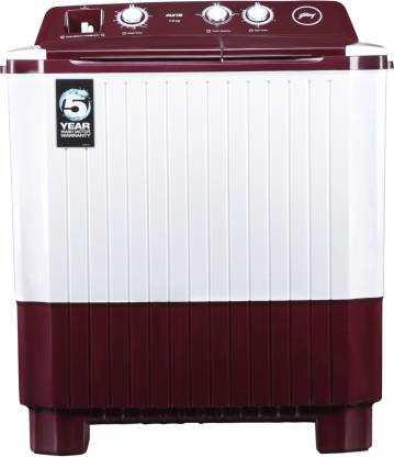 Godrej WS Axis 7.0 PN2 T WNRD 7 Kg Semi Automatic Top Loading Washing Machine