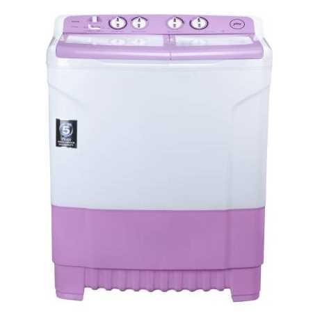 Godrej WS Edge 8.0 TB3 M 8 Kg Semi Automatic Top Loading Washing Machine