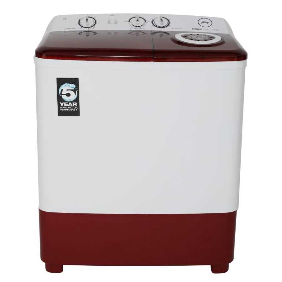 Godrej WS EDGE DX 650 CPBT 6.5 Kg Semi Automatic Top Loading Washing Machine