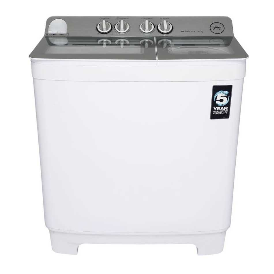 Godrej WS EDGE NX 950 CPBR 9.5 Kg Semi Automatic Top Loading Washing Machine