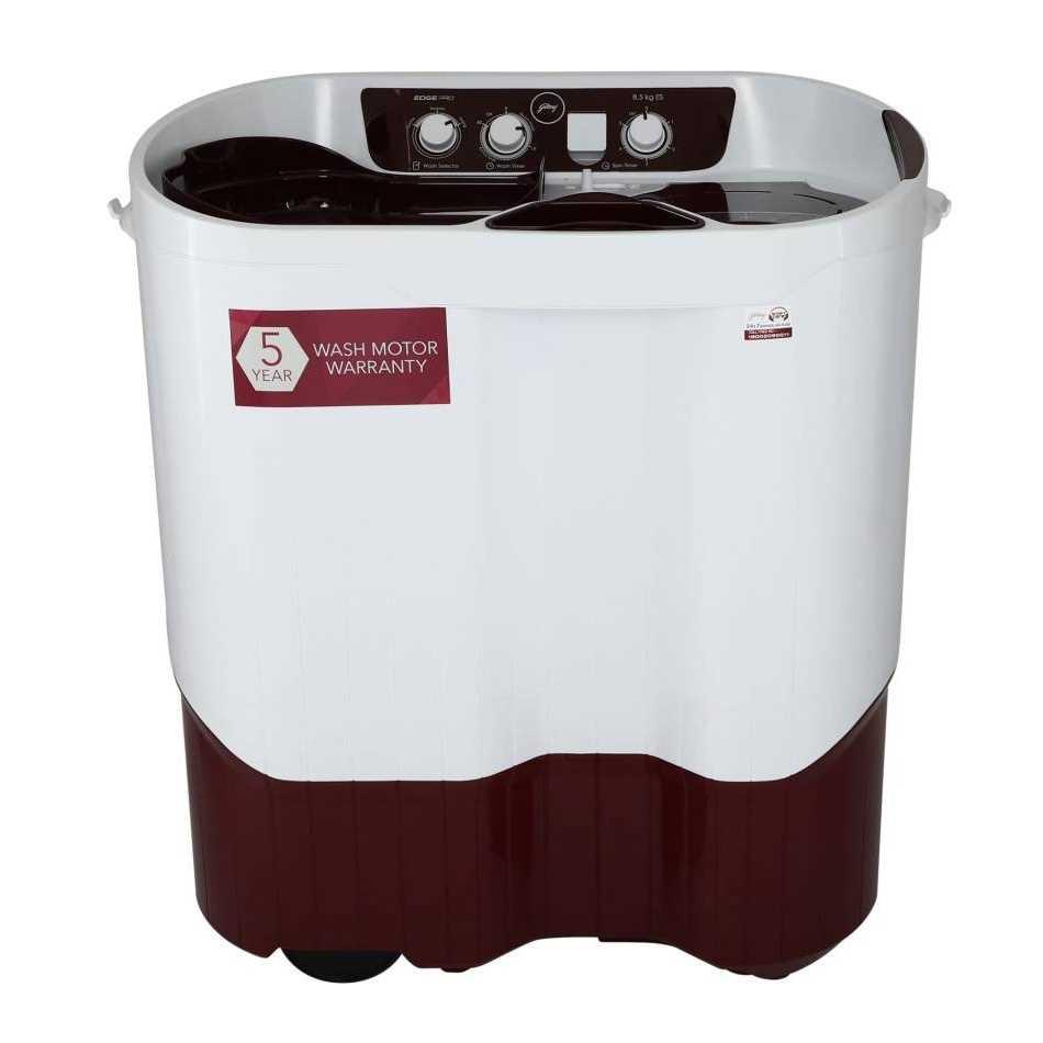 Godrej WS EDGE PRO 850 ES 8.5 Kg Semi Automatic Top Loading Washing Machine