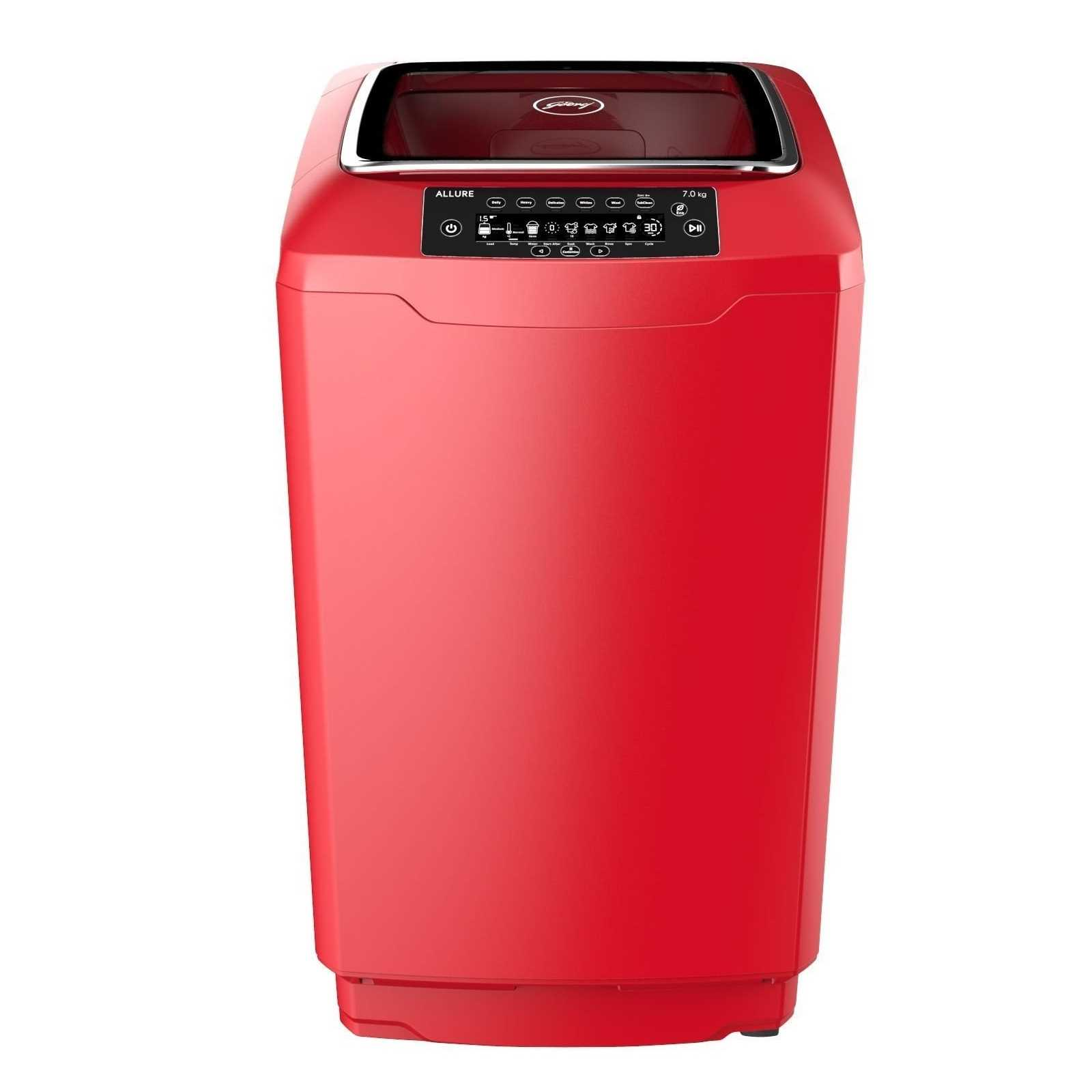 Godrej WT EON ALLURE 700 PAHMP 7 Kg Fully Automatic Top Load Washing Machine