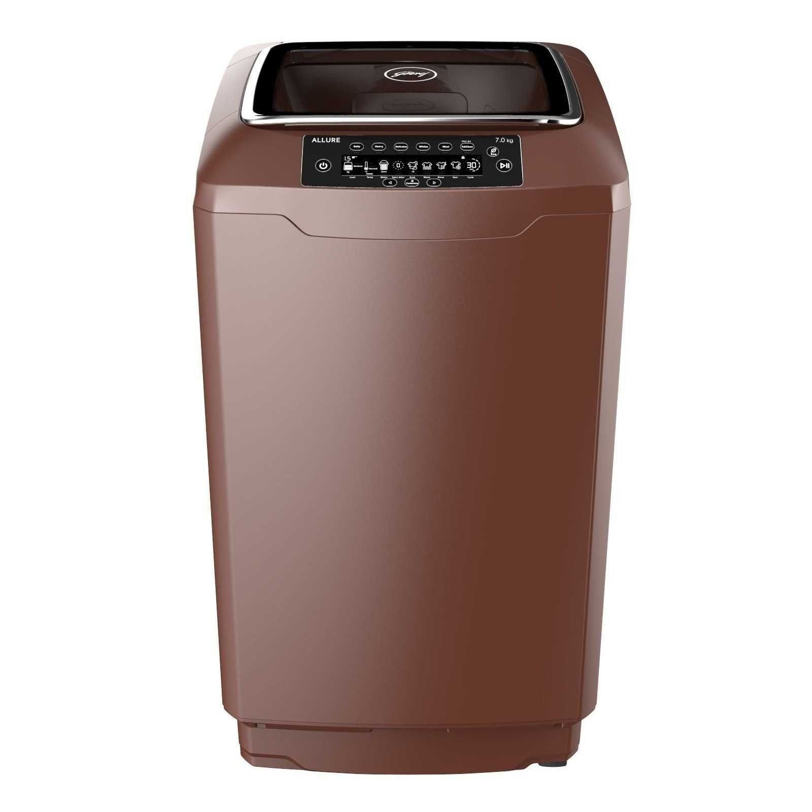 Godrej WT EON Allure 700 PANMP 7 Kg Fully Automatic Top Load Washing Machine