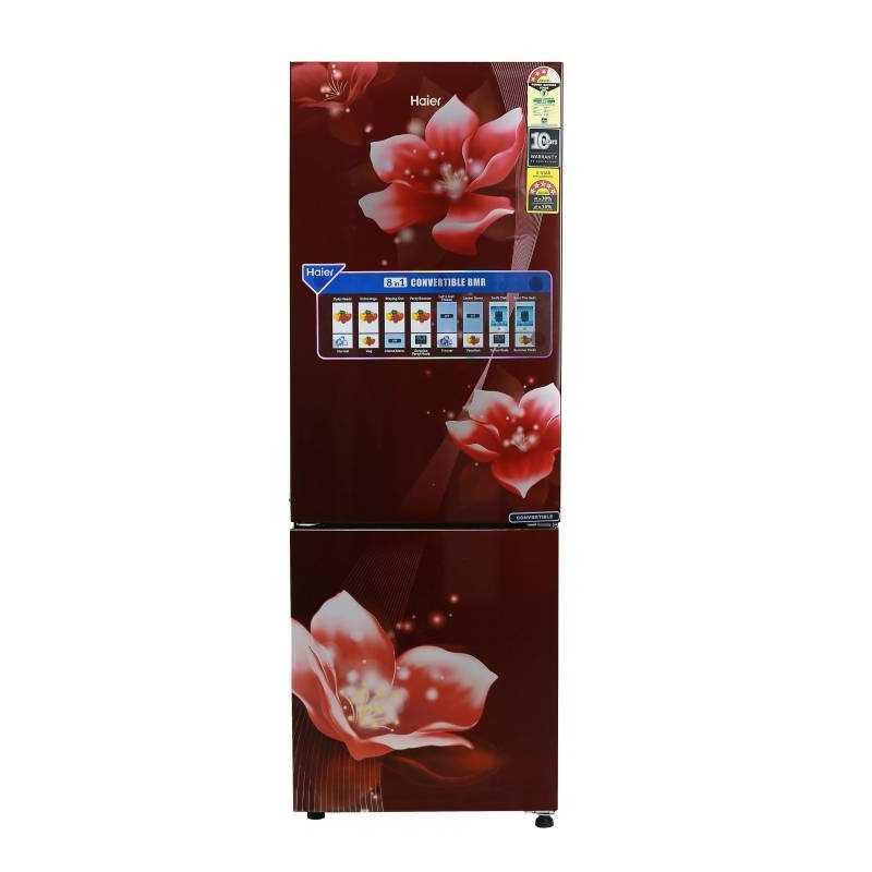 Haier HEB 25TRF 256 Litres Double Door Frost Free Refrigerator