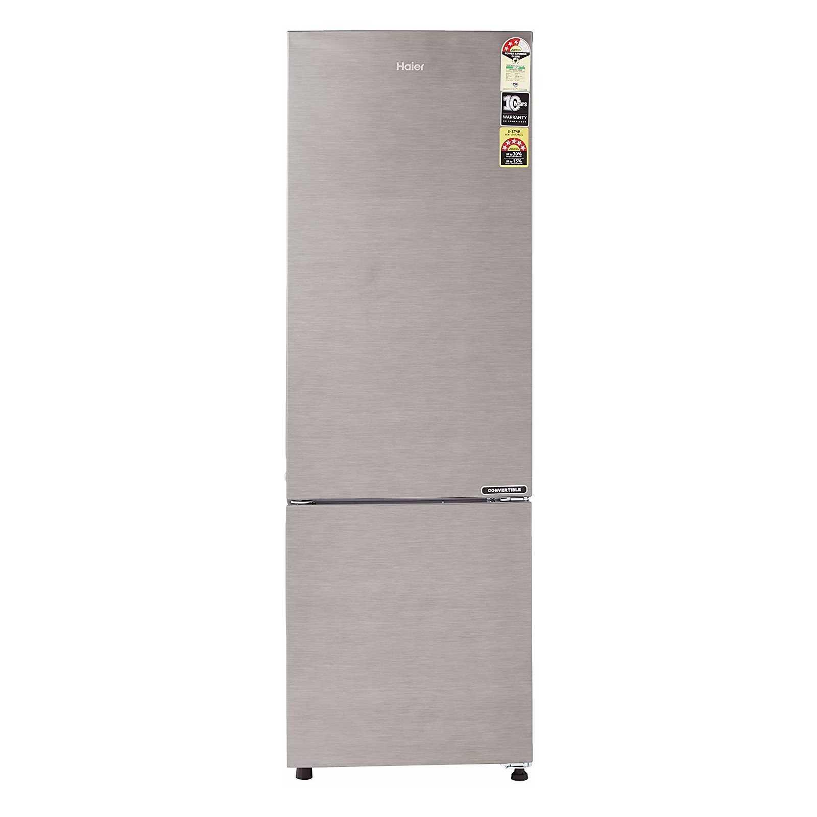 Haier HEB 27TDS 276 Litre Frost Free Double Door Refrigerator
