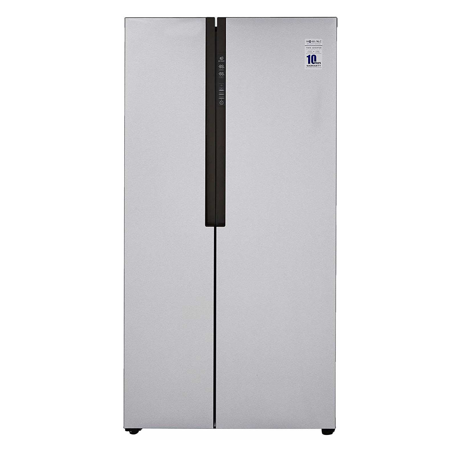 Haier HRF 619SS 565 Litre Frost Free Side by Side Refrigerator
