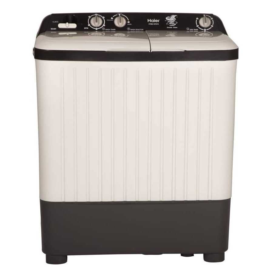 Haier HTW62-187GYO 6.2 Kg Semi Automatic Top Loading Washing Machine