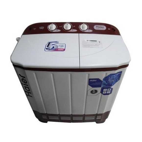 Haier HTW65-113S 6.5 Kg Semi Automatic Top Loading Washing Machine