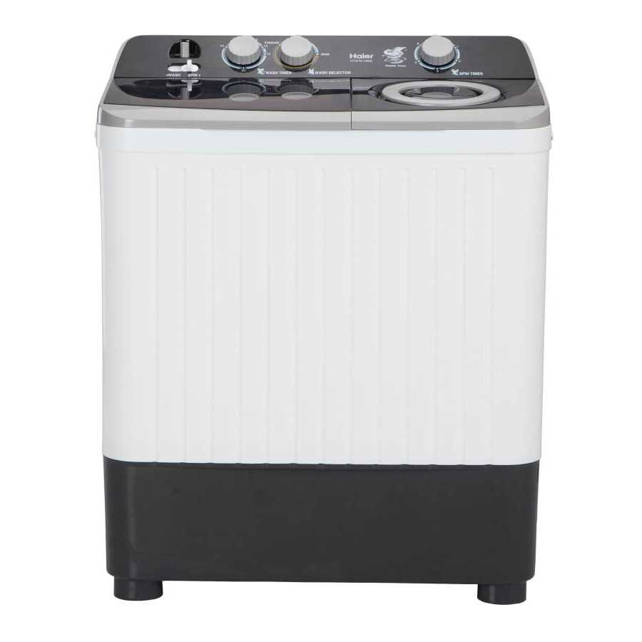 Haier HTW70-186S 7 Kg Semi Automatic Top Loading Washing Machine