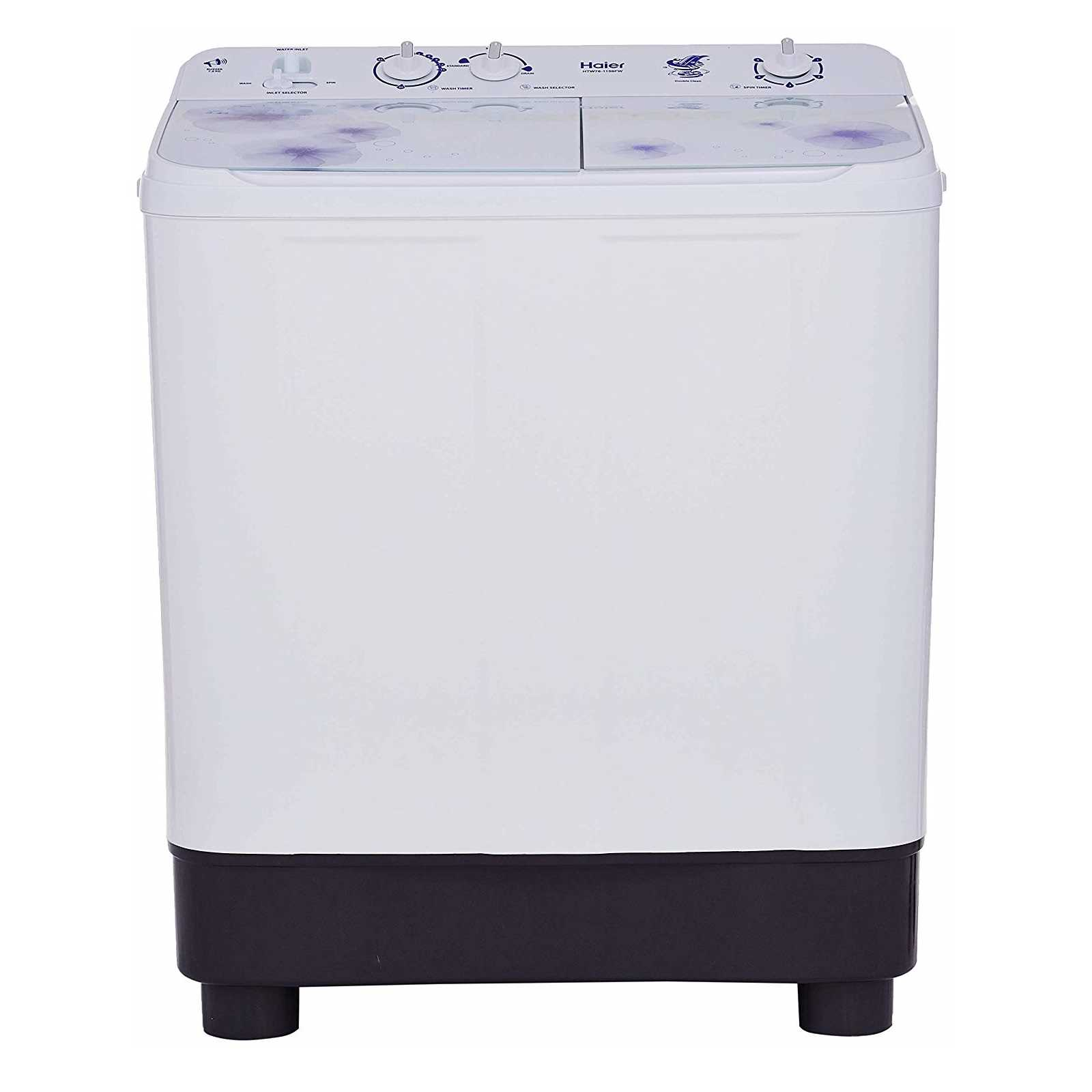 Haier HTW76-1159 7.6 Kg Semi Automatic Top Loading Washing Machine