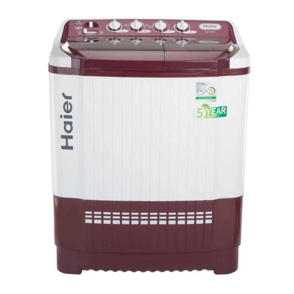 Haier HTW80-185V 7.8 Kg Semi Automatic Top Loading Washing Machine