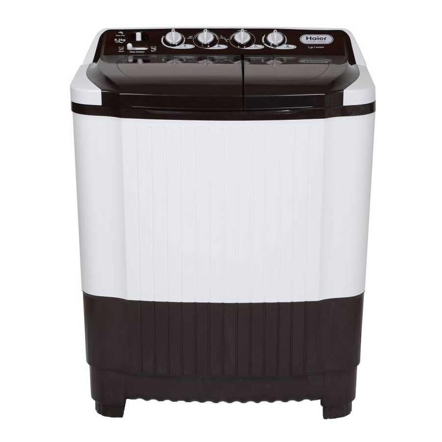 Haier HTW82-185VA 8.2 Kg Semi Automatic Top Loading Washing Machine