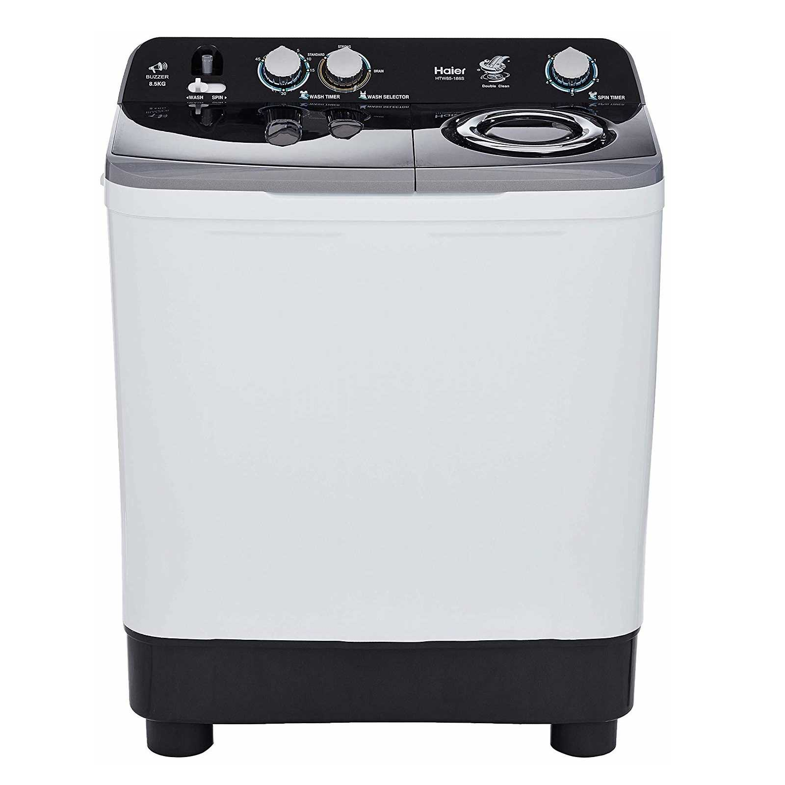 Haier HTW85-186S 8.5 Kg Semi Automatic Top Loading Washing Machine