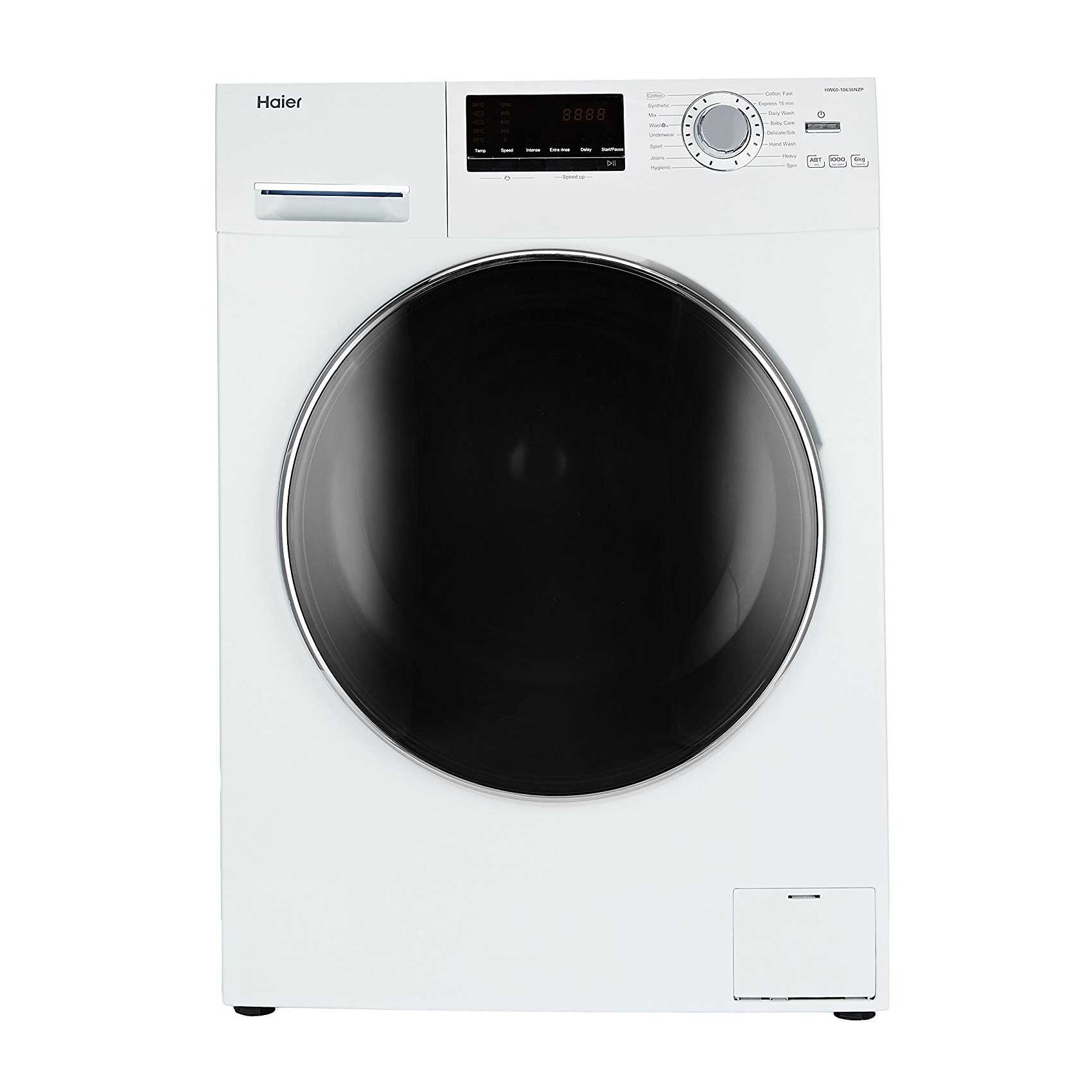 Haier HW60-10636NZP 6 Kg Fully Automatic Front Loading Washing Machine