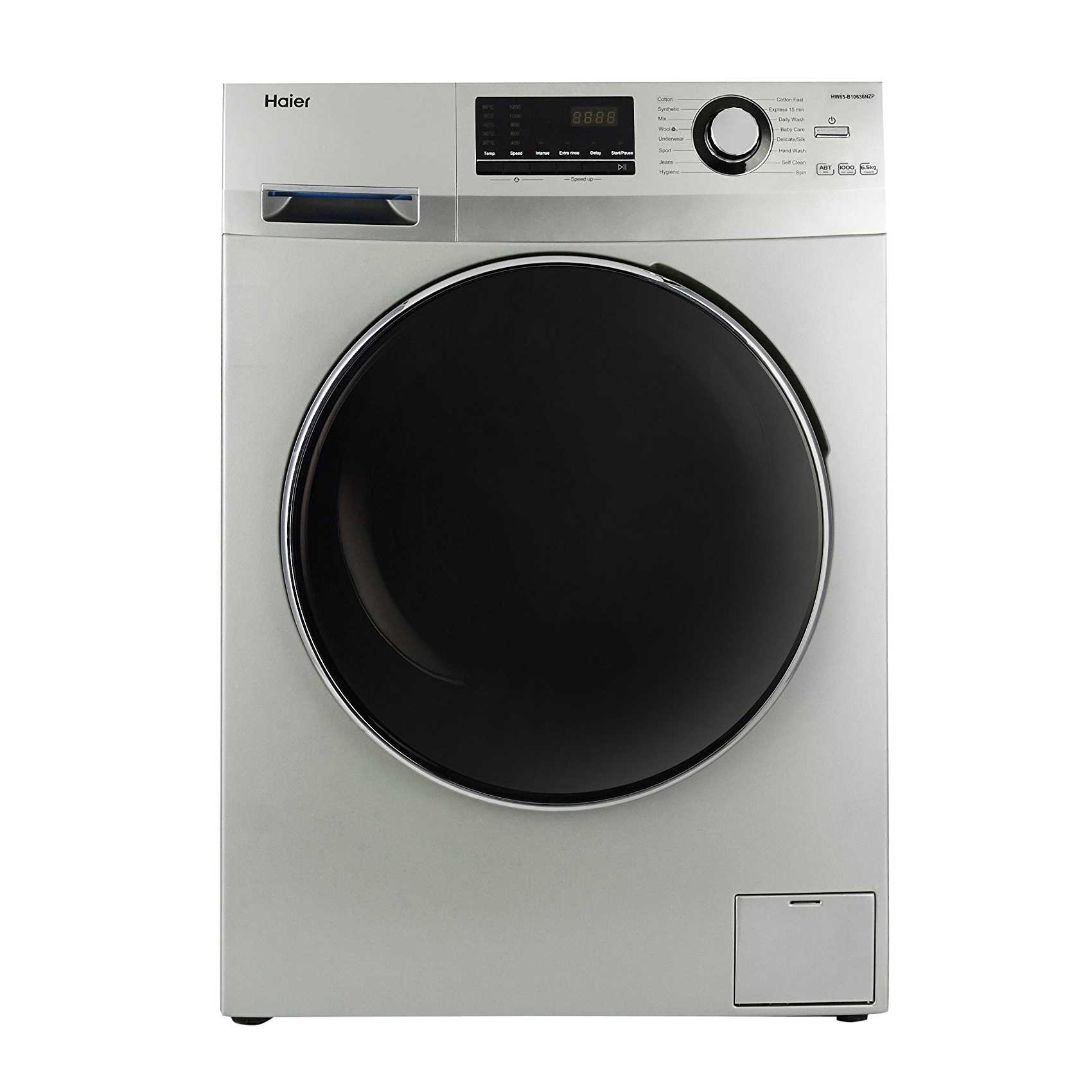 Haier HW65-B10636NZP 6.5 Kg Fully Automatic Front Loading Washing Machine