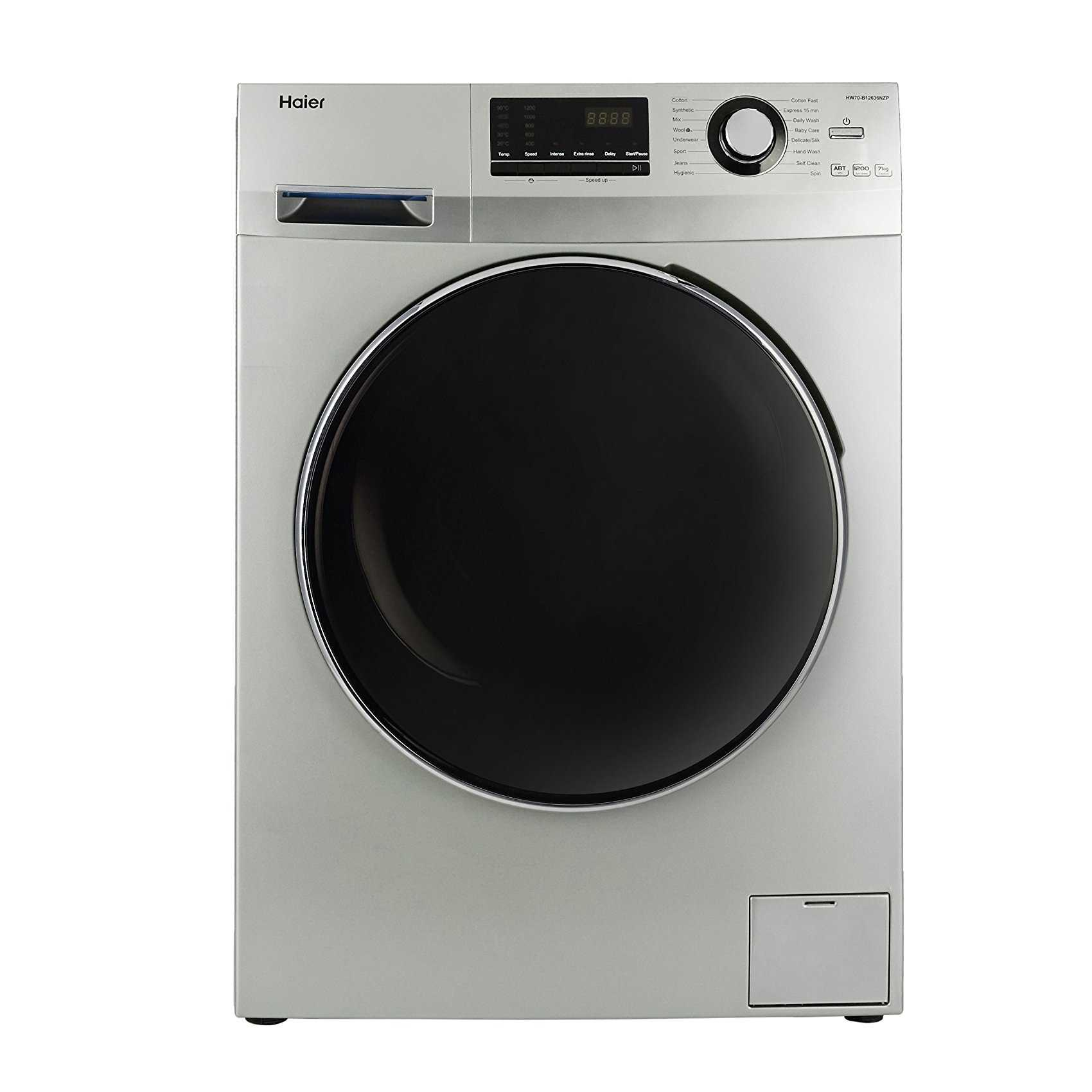 Haier HW70-B12636NZP 7 Kg Fully Automatic Front Loading Washing Machine