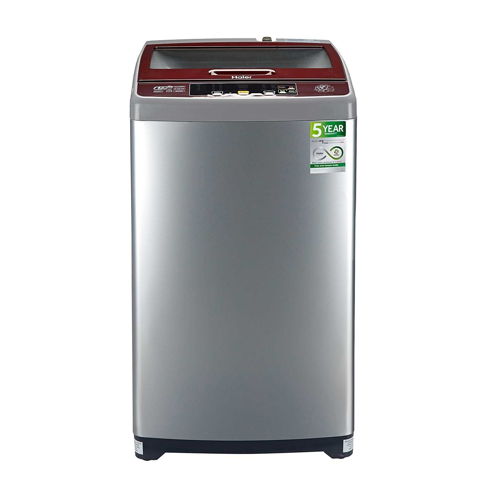 Haier HWM65-707NZP 6.5 Kg Fully Automatic Top Loading Washing Machine