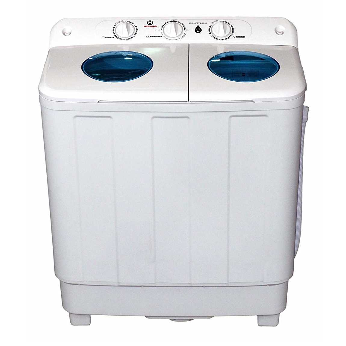 Haikawa HIK-XQB70-379S 7 Kg Semi Automatic Top Loading Washing Machine