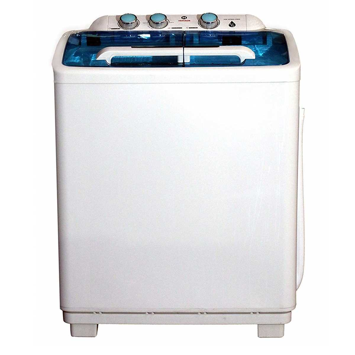 Haikawa HIK-XQB80-A969 8 Kg Semi Automatic Top Loading Washing Machine