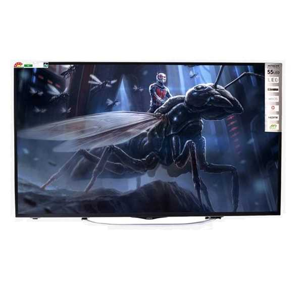 hitachi 55 inch tv. hitachi ld55sys02u-ciw 55 inch 4k ultra hd smart led television price {25 nov 2017} | reviews and specifications tv c
