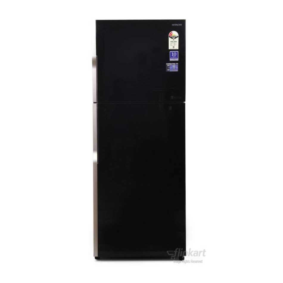 Hitachi R VG400PND3 GBK Double Door 382 Litres Frost Free Refrigerator