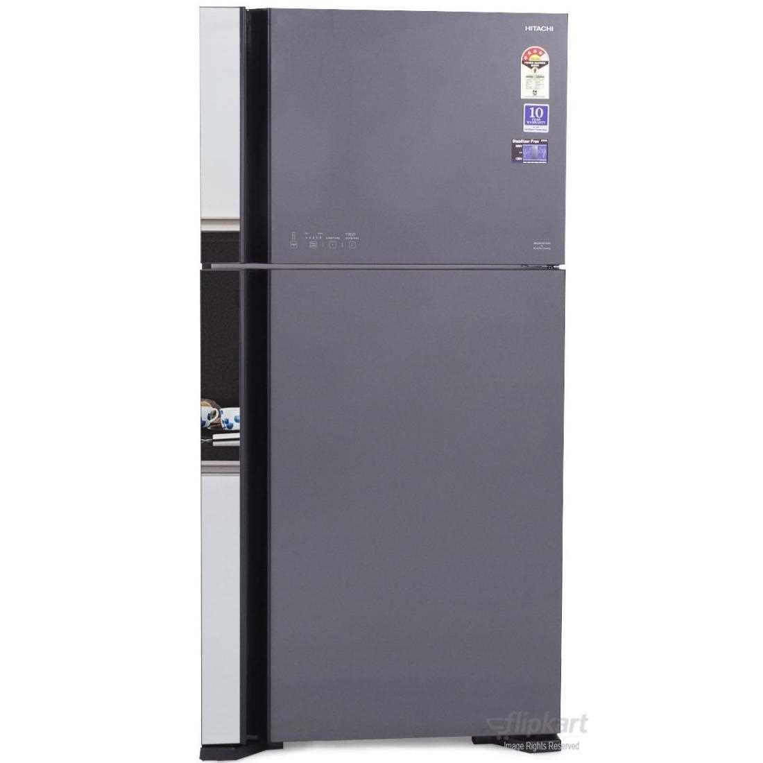 Hitachi R VG610PND3 Double Door 586 Litres Frost Free