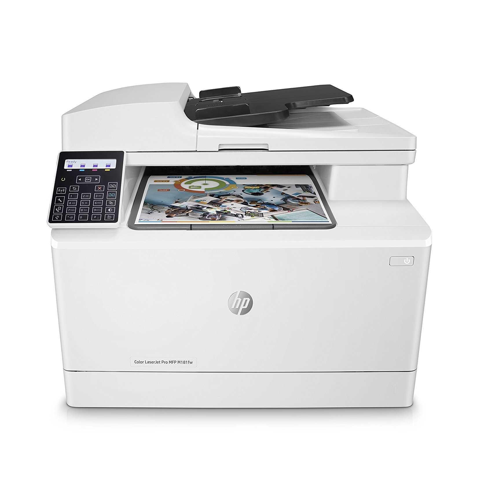 HP Color LaserJet Pro M181FW Laser Multifunction Printer
