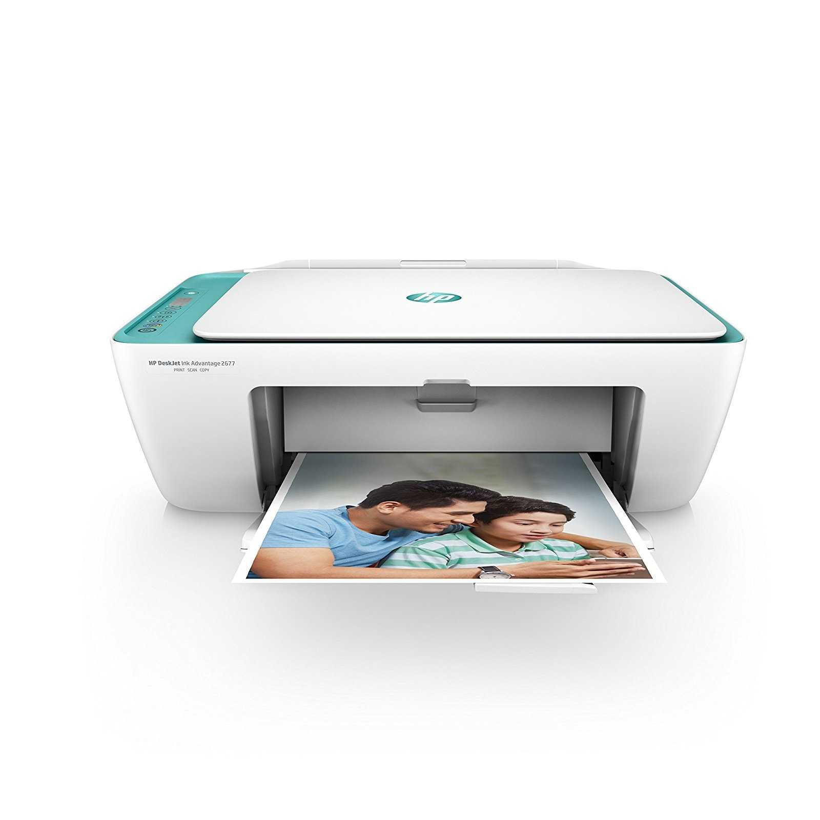 HP DeskJet Ink Advantage 2677 Inkjet Multifunction Printer
