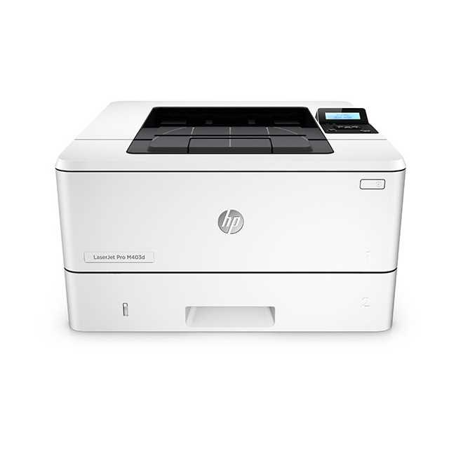 HP Laserjet Pro M403d Laser Single Function Printer