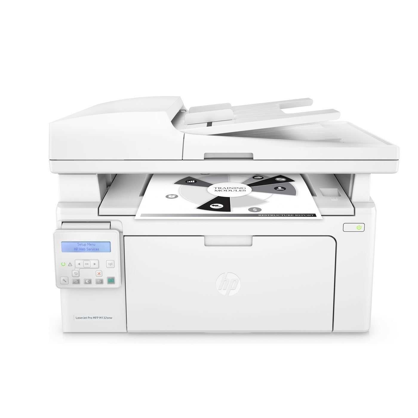 HP LaserJet Pro MFP M132snw Laser Multifunction Printer