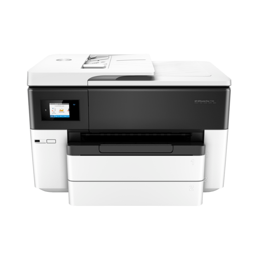 HP OfficeJet Pro 7740 WF Inkjet Multifunction Printer