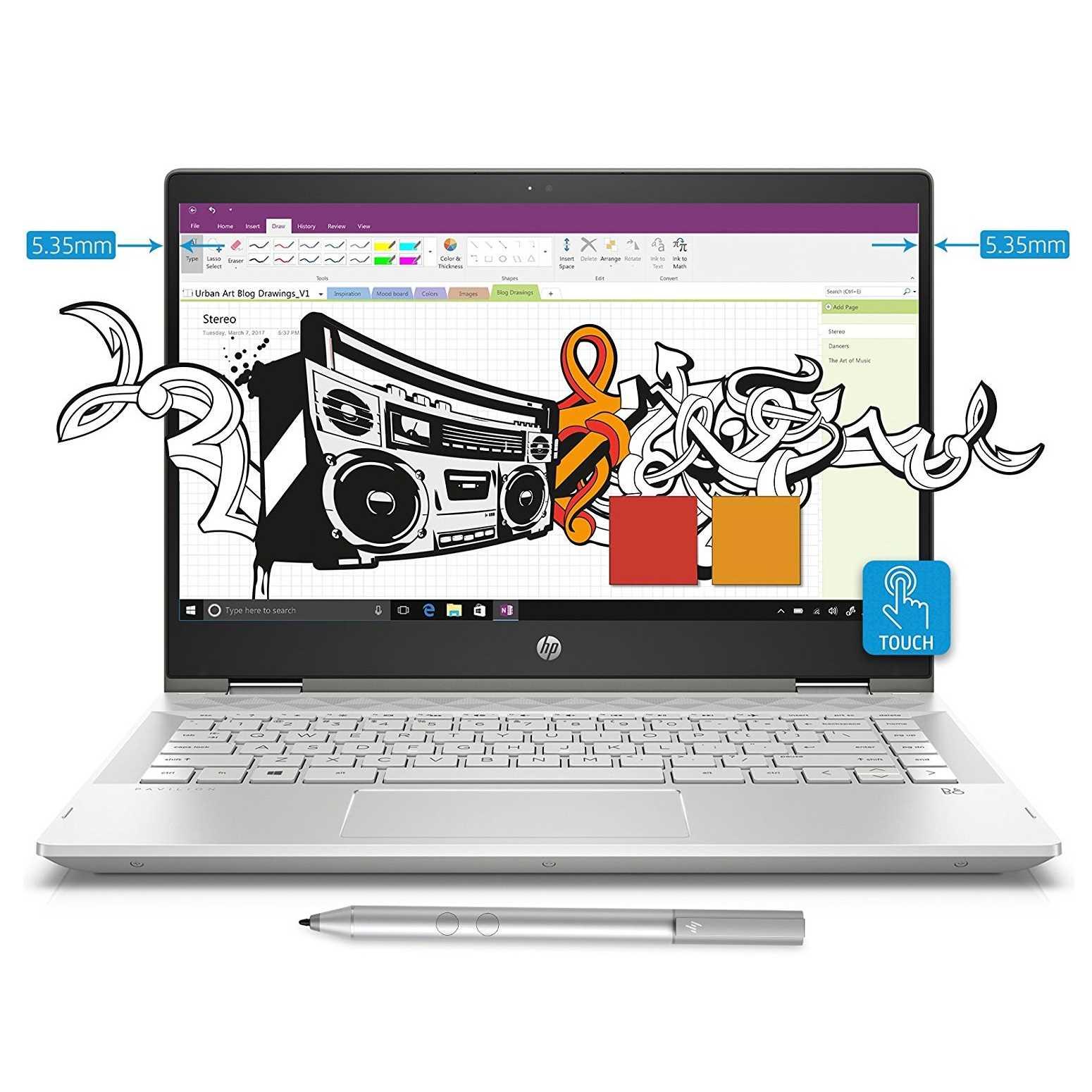 HP Pavilion 14 X360 CD0055TU Laptop