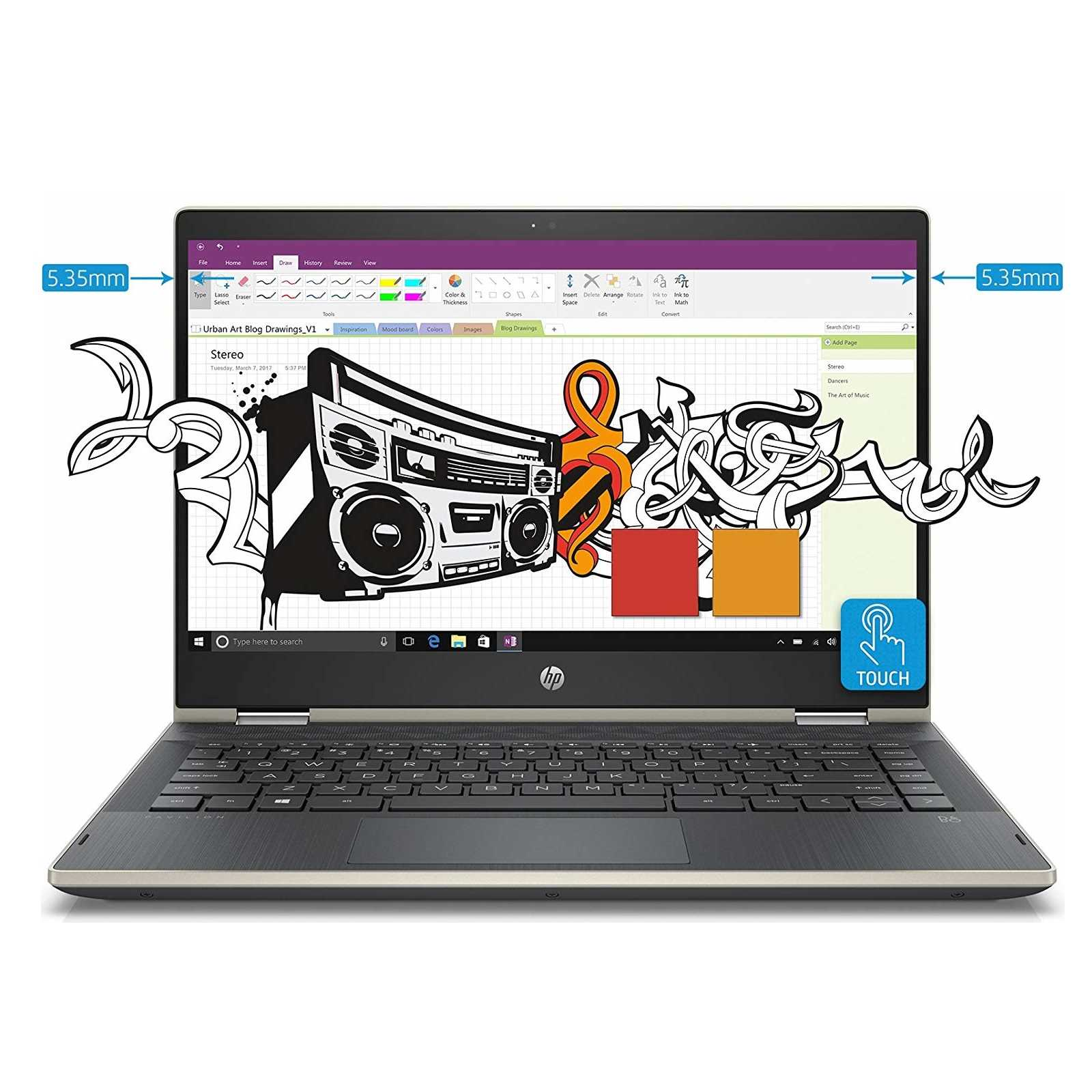 HP Pavilion X360 14-CD0081TU Laptop