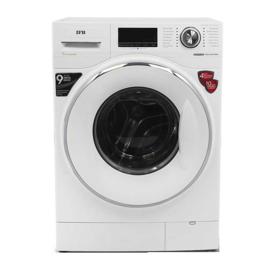 IFB Elite Plus VX ID 7.5 Kg Fully Automatic Front Loading Washing Machine