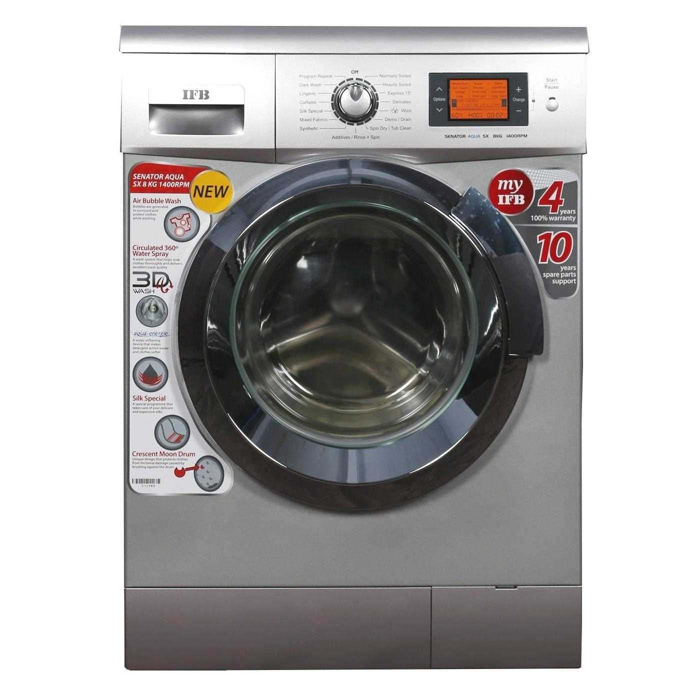 Ifb Front Door Washing Machine Part - 15: IFB Senator Aqua SX 8 Kg Fully Automatic Front Loading Washing Machine  Price {2 Oct 2018} | Senator SXReviews And Specifications
