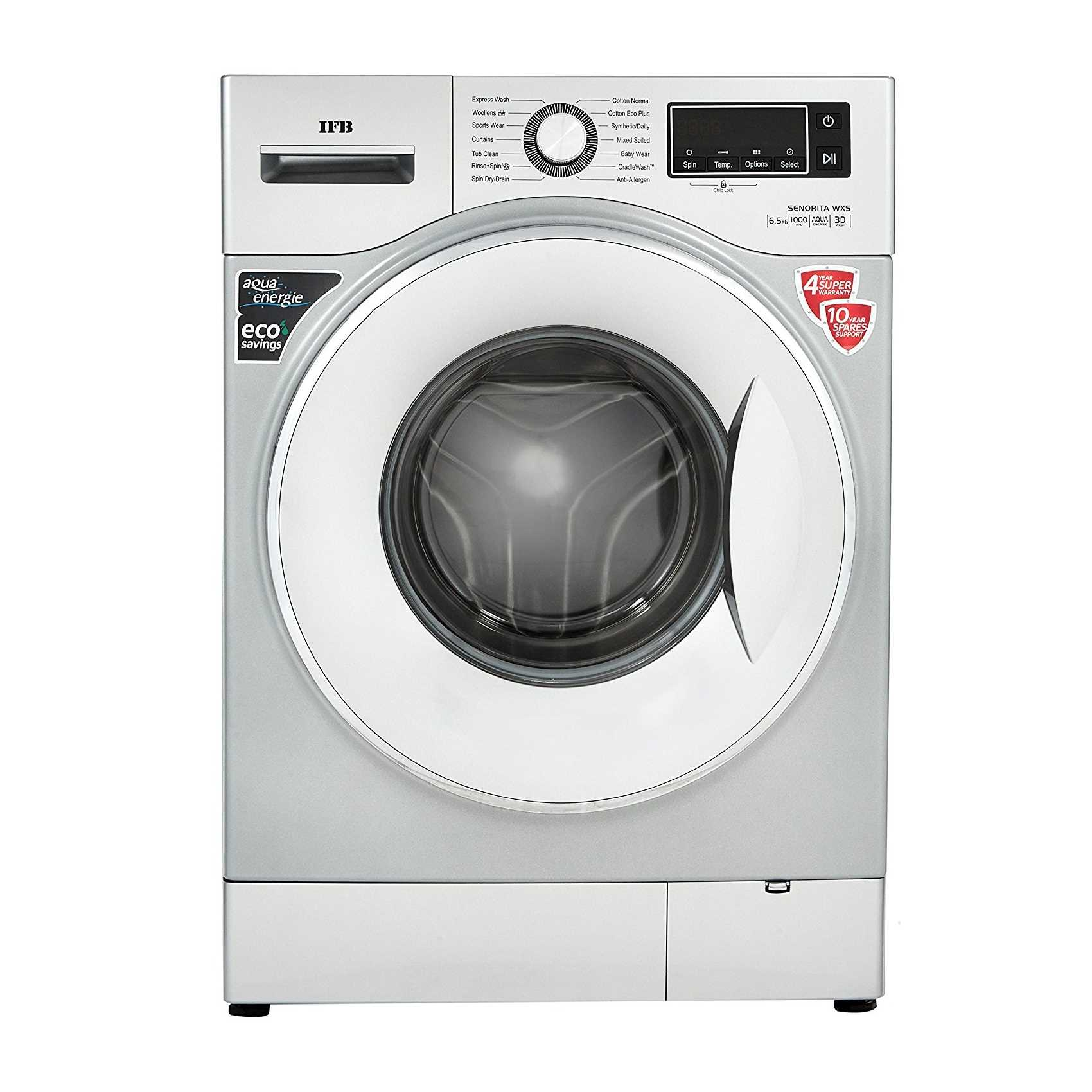 IFB Senorita WXS 6.5 Kg Fully Automatic Front Loading Washing Machine