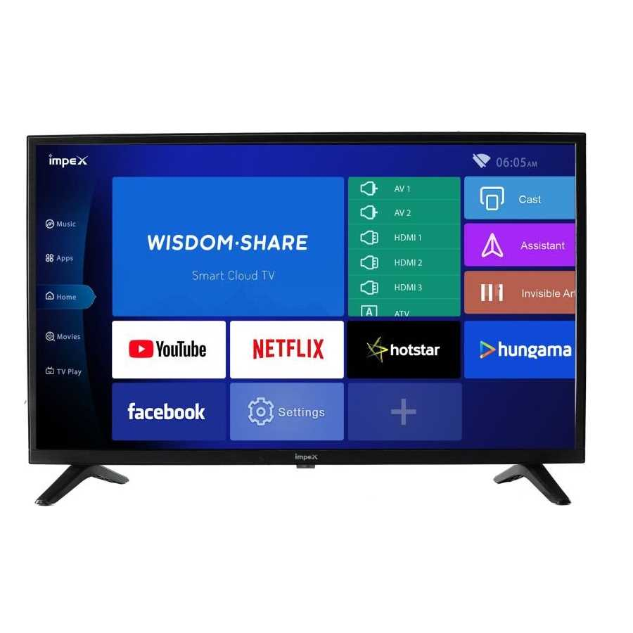 Impex IXG 32 Inch HD Ready Smart Android LED Television