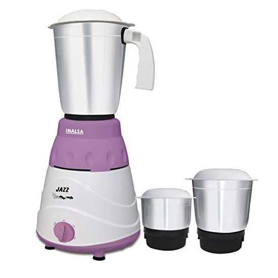 Inalsa Jazz 550 W Mixer Grinder