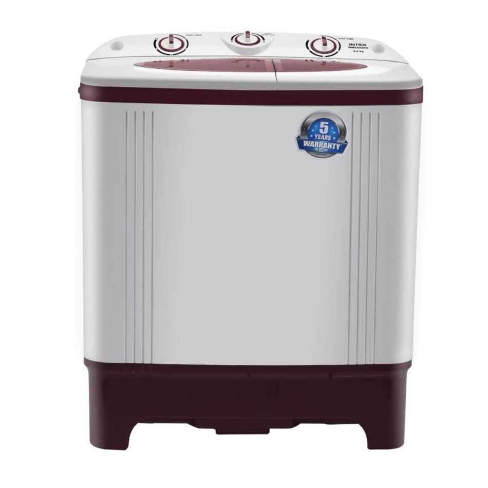 Intex WMSA62RD 6.2 Kg Semi Automatic Top Loading Washing Machine