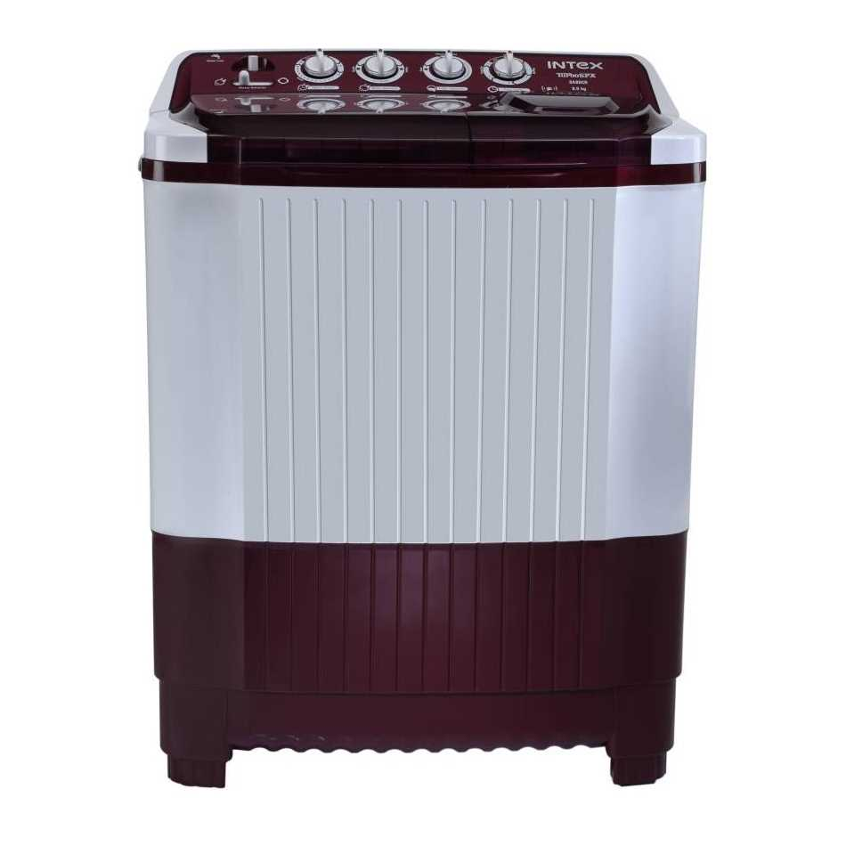 Intex WMSA80CR 8 Kg Semi Automatic Top Loading Washing Machine