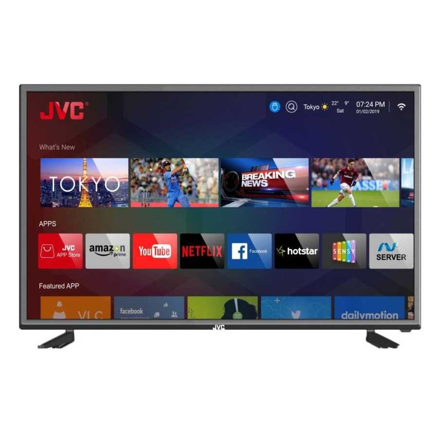 JVC 40N5105C 40 Inch Full HD Smart LED Television