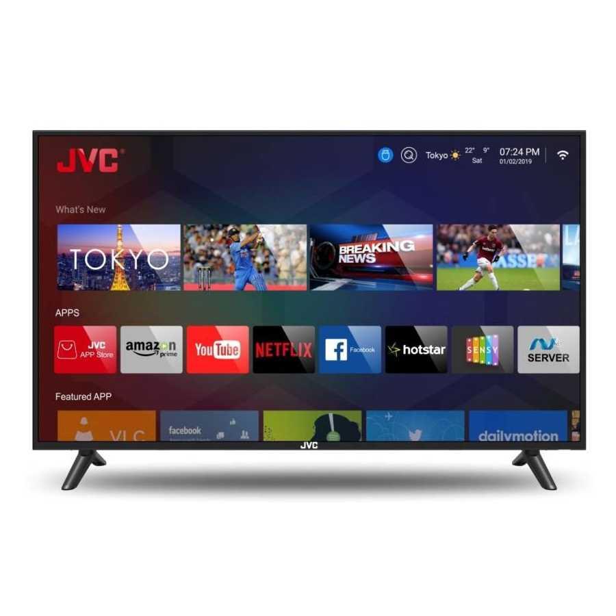 JVC LT-43N5105C 43 Inch Full HD Smart LED Television