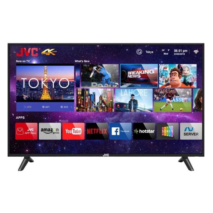 JVC LT-49N7105C 49 Inch 4K Ultra HD Smart LED Television
