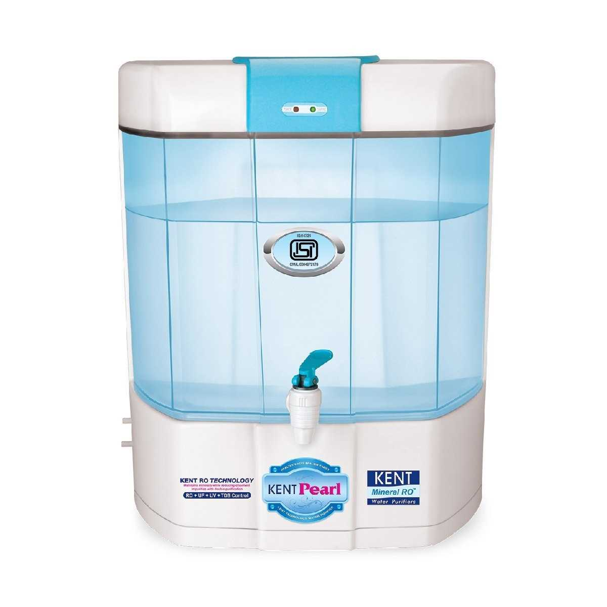 7367a28b792 Kent Pearl Mineral RO 8 Litre UV Water Purifier Price  20 Apr 2019