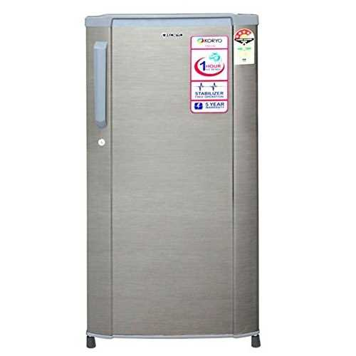 Koryo KDR210S3 190 Liter Single Door Direct Cool Refrigerator