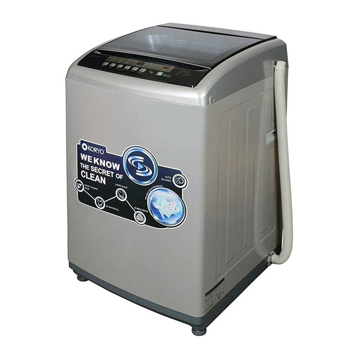 Koryo KWM1000TL 10 Kg Fully Automatic Top Loading Washing Machine
